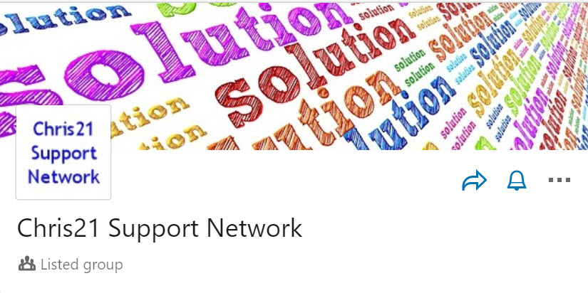 Chris21 and iChris support networks