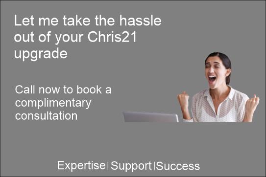 Chris21 version 8.19 upgrade